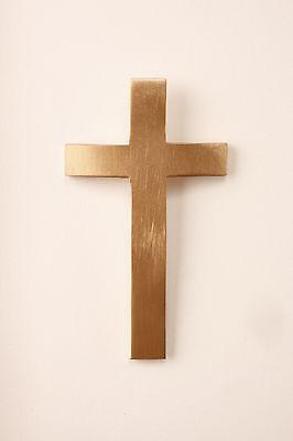 Cross Medallion for Cold Cast Bronze or Cultured Wood Infinity Urn (Cold Cast Bronze Cremation Urn)
