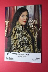 Jessie Wallace (Eastenders) Signed Cast Card