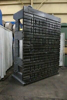 90 Wide X 120 High T-slotted Angle Plate Yoder 69283