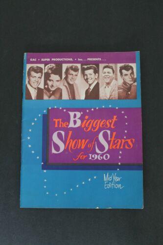 Vintage ORIGINAL Concert Program The Biggest Show of Stars for