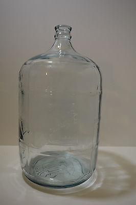 Belmont Springs Glass 5 Gallon Water Carboy Bottle Jug