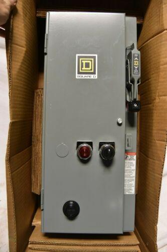Square D 30 Amp Type 1  7.5/10HP  Combo Motor Starter