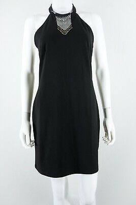 H&M size 12 Necklace-Decoration Halter Dress NEW NWT