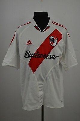 RIVER PLATE ARGENTINA 2004/2005/2006 HOME FOOTBALL SHIRT JERSEY MAGLIA ADIDAS XL image