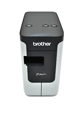 Brother P-touch Pt-p700 Pc Connectable Label Maker Tested