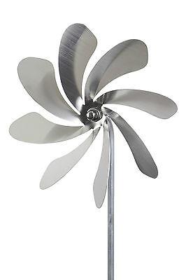 """A1002 - steel4you Windrad """"Speedy20"""" aus Edelstahl Garten Dekoration rostfrei"""