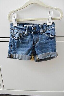 Mädchen Stretch Cuffed Shorts (Joes Jeans Denim Jean Cuffed Stretch Girls Toddler Shorts Size 2 2T EUC)