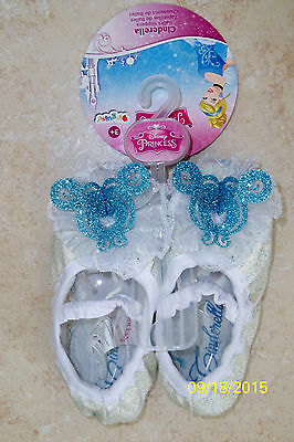 TODDLER DISNEY PRINCESS CINDERELLA SLIPPERS COSTUME PLAY DRESS UP DG83868