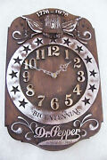 Vintage Dr Pepper Clock