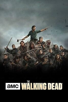The Walking Dead poster print  : Season 8  : 11 x 17 inches