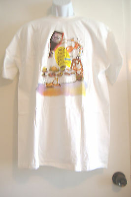 ~WHAT ARE YOU GONNA HAVE WITH YOUR KETCHUP?~ HEINZ KETCHUP T-SHIRT ~ADULT XL ~