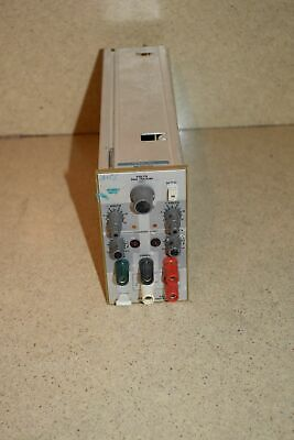 Tektronix Ps503 Dual Power Supply Plug In Tp922