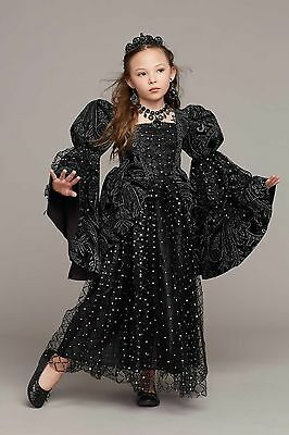 Evil Queen Costume (NEW Wishcraft Girls Chasing Fireflies Wicked Princess Evil Queen Gown Costume)
