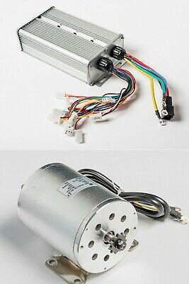 Boma 2500w 60v Bldc Electric Motor W Base Bm1024 W 40a Controller Gokart Scooter
