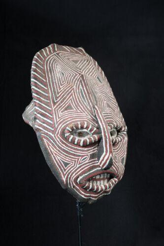 Luvale Makishi Mask, Angola, Zambia, African Tribal Mask.