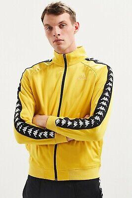 3502050-C87-  Kappa vintage yellow track jacket Size  XXL ***