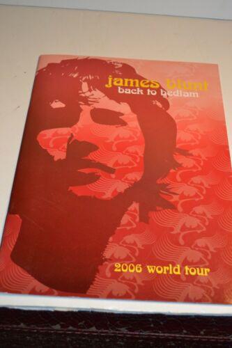 James Blunt 2006 World  Concert Tour Program