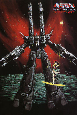 Macross Minmay Singing Final Battle Poster 12inchesx18inches Free Shipping
