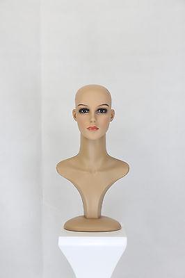 Perückenkopf Dekokopf Make Up Schaufensterpuppe Mannequin Torso Perücke Kopf