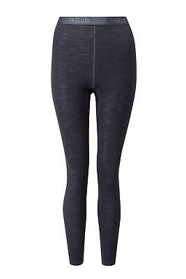 f559fa79fd Rab - Women s Merino Wool 120 Pants - Long Underwear - Size Large - Black