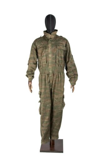 Bosnia Serb VRS Unit Green Tiger Camo Pattern Coverall With Hoodie