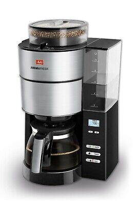 MELITTA 1021-01 AromaFresh, Kaffeemaschine, Schwarz/Edelstahl NEU&OVP! ()