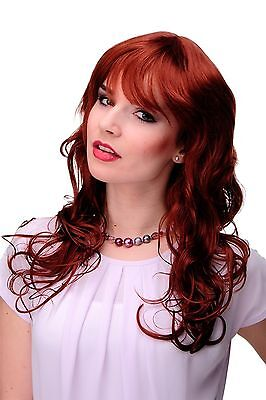 Unwiderstehlich lockige Damen-Perücke Rot Kupferrot ca. 55 cm lang 9669-350