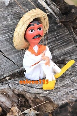 Mexican Marionette String Puppet The Laborer