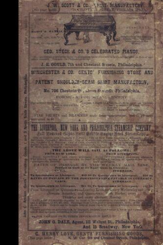 1864-5 Directory Reading, Allentown, Easton, Pottsville, Bethlehem, PA (Reprint)