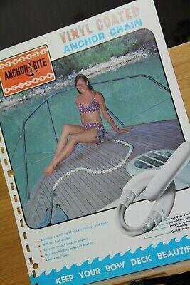 Brochure Anchor Rite SAC Corp  Vinyl Coated Anchor Chain Boat Parsons Kansas KS Anchor Chain Vinyl