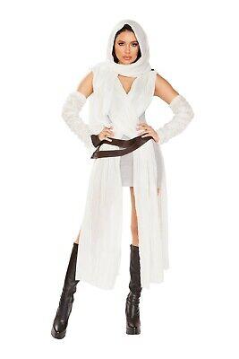 Inspiring Halloween Costumes (Sexy Women's Rey Inspired Costume Human Scavenger Halloween Show Party)