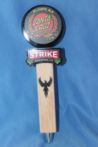 Strike Brewing Santa Cruz Blonde Ale Tap Handle