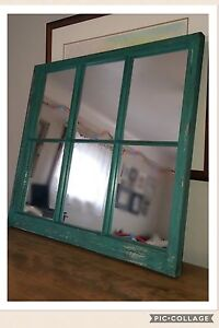 1880's Mirrored Frame