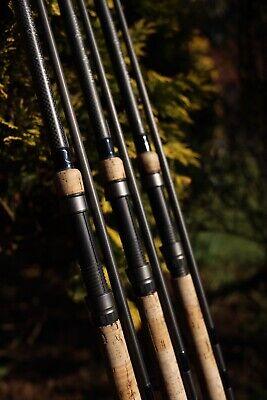 Shimano Velocity 12ft 3lb Cork Handle Carp Fishing Rods 50mm Distance set of 3