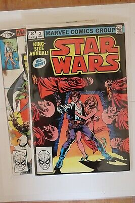 Marvel Star Wars King Size Annual #1 and #2  Low-Grade Readers