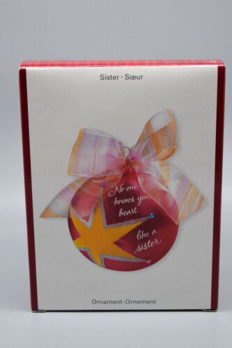 "American Greetings Heirloom Ornament ""Sister"".   New Old Stock #34"