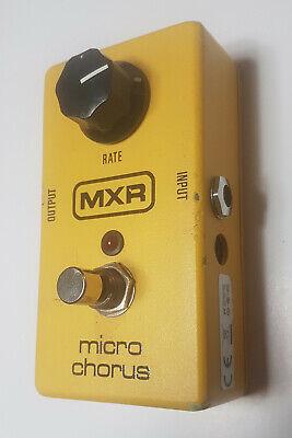 Jim Dunlop MXR Micro Chorus Pedal M148 Used