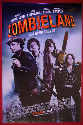 Zombieland Woody Harrelson Emma Stone Picture Art Movie Poster Print 24X36