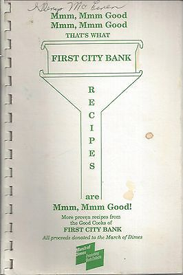 Fort Walton Fl 1992 First City Bank Cook Book  Mmm Mmm Good   Florida Community
