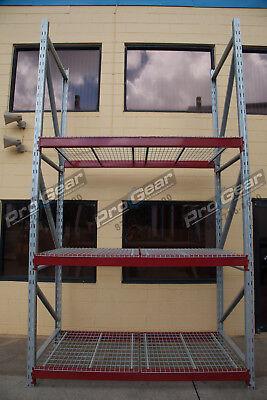 3 Shelf Pallet Rack Starter Kits Tall Industrial Shelving Heavy Duty Pallet Rack