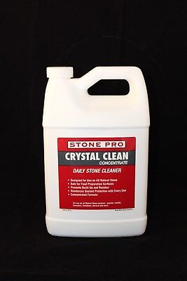 Stone Pro Crystal Clean Concentrate- Daily Stone And Tile Cleaner - 1 Quart