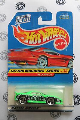 hot wheels 1/64 tattoo machines series '93 camaro 686 (Hot Wheels Tattoos)