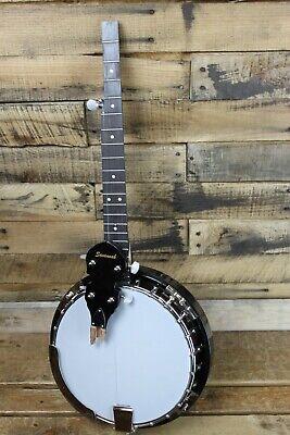Savannah SB-100 Resonator 5-String Banjo - Damaged, Cracked Neck  #R5627