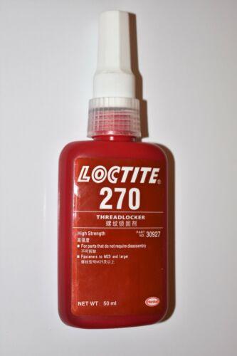 Loctite 270 Threadlocker High Strength 50ml tube