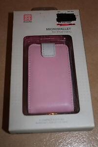 XtremeMac MicroWallet Mp3 Ipod Nano Protector Pink Flip Case Heathmont Maroondah Area Preview