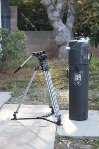 Sachtler Video 18 II Fluid Head W/ Aluminum Legs + Spreader