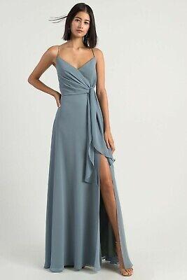 Jenny Yoo Amara Dress Size 10 - BNWT RRP $430 - Blue Bridesmaid Formal