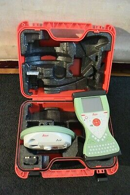 Leica Gps Model Gs08plus Pn 6055692 And Cs15 Data Collector Pn 599174