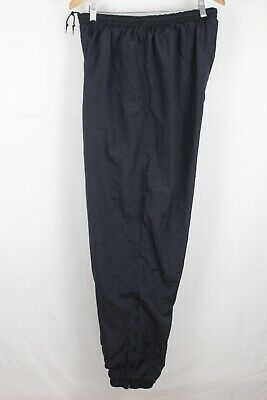 Nike Mens Black Sz 2XL Lined Windbreaker Pants