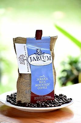 JABLUM by Mavis Bank 100% Jamaican Blue Mountain 8oz x 50 more often than not bean WHOLESALE
